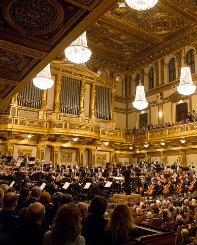 Riccardo Muti and the Chicago Symphony offered two concerts at Vienna's Musikverein. (Todd Rosenberg)