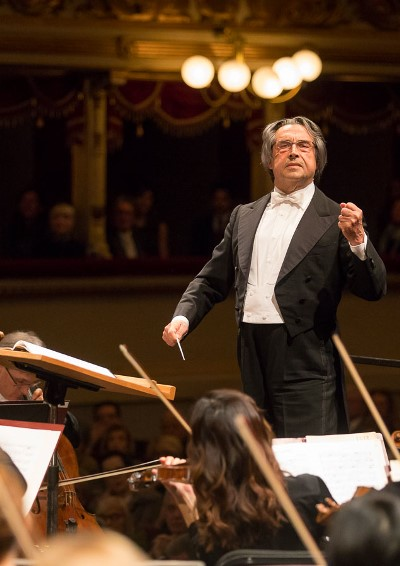 Riccardo Muti leads the CSO at La Scala, where he reigned for two decades. (Todd Rosenberg)