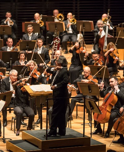 "Riccardo Muti presided over an account of ""Pictures an at Exhibition"" that wowed the Paris audience. (Todd Rosenberg)"