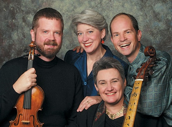 Newberry musicians, from left: David Douglass, Ellen Hargis, Mary Springfels and Drew Minter.
