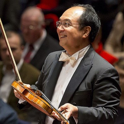 CSO concertmaster Robert Chen was magical in his 'Sleeping Beauty' solo. (Todd Rosenberg)