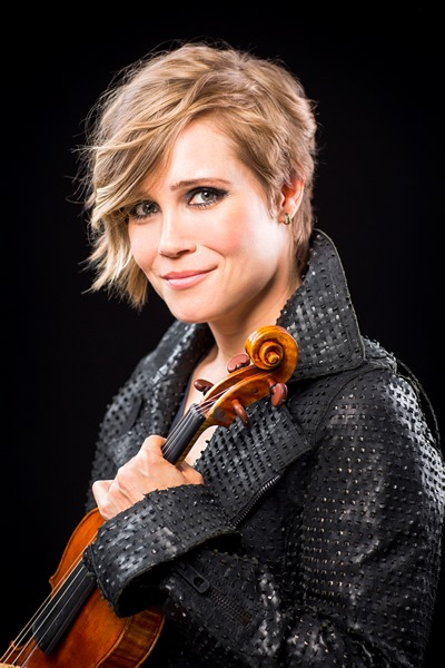 "Violinist Leila Josefowicz was the soloist in John Adams' ""Scheherazade.2."""