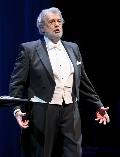 Placido Domingo at 78, one of history's most adored singers. (Todd Rosenberg)