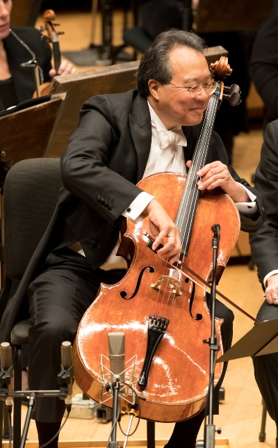 Yo-Yo Ma brought brilliance and finesse to the new concerto. (Todd Rosenberg)
