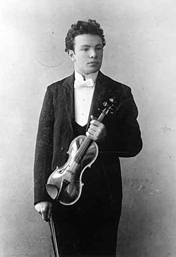 Before blossoming as a composer, Ottorino Respighi was a violinist.