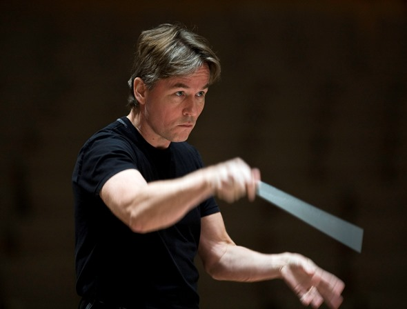 Esa-Pekka Salonen: an almost mathematical structural precision, with a revealing ear for color and voicing. (Clive Barda)