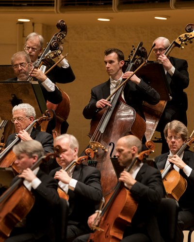 Cellos and basses underpinned burnished playing by the CSO strings. (Todd Rosenberg)