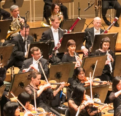 Muti elicited fine balances from the woodwind choir. (Todd Rosenberg)