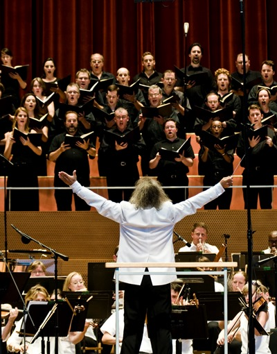 The Grant Park Chorus brought majestic bearing and musical authority to its grand assignment. (Courtesy Grant Park Music Festival)