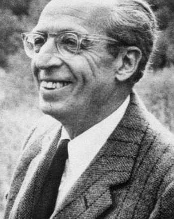 Composer Aaron Copland: Painting America in sound.