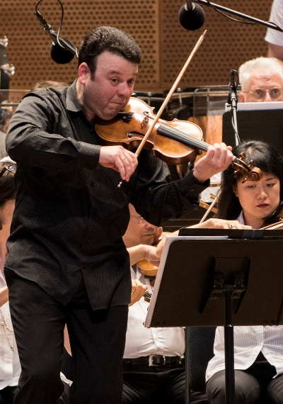Vadim Gluzman: Fierce playing, gorgeous sound in the Tchaikovsky Violin Concerto. (Norman Timonera)