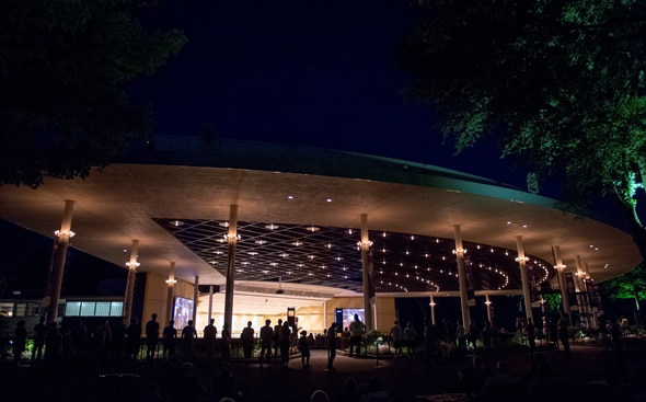 The Ravinia pavilion will be lit up by the Chicago Symphony's concert series. (All photos courtesy of Ravinia Festival)