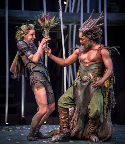 "Shakespeare's ""A Midsummer Night's Dream"" will inaugurate the company's new stage. (Liz Lauren)"