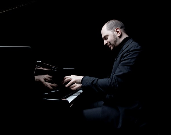 Pianist Kirill Gerstein offered a program fraught with technical demands at Orchestra Hall.