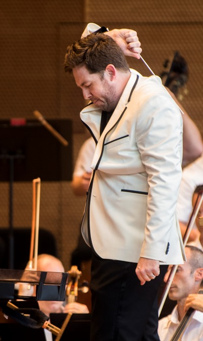 Grant Park guest conductor Brett Mitchell is music director-designate of the Colorado Symphony. (Norman Timonera)