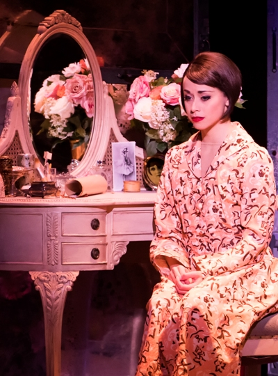 Lise (Sara Esty) owes her life to Henri's family in 'An American in Paris.' (Matthew Murphy)