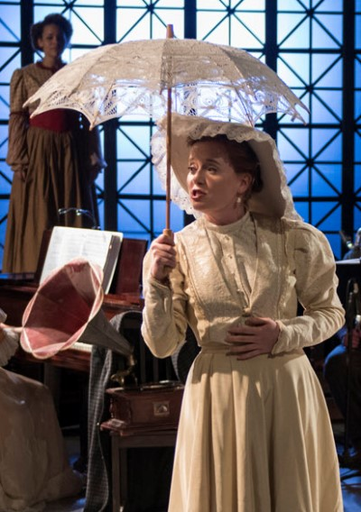 Mother (Laura McClain) leads a posh life, in a limited way. (Michael Brosilow)