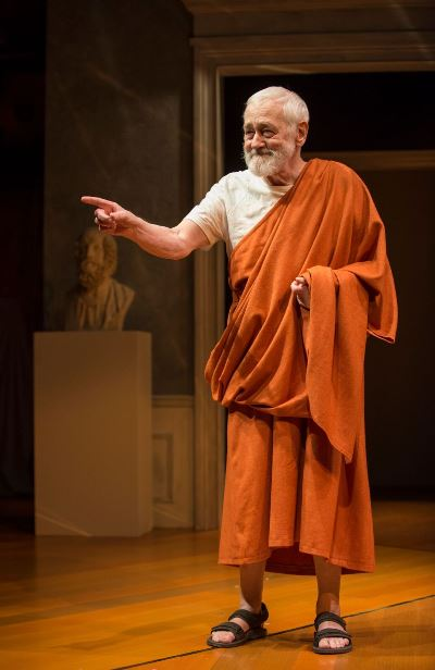 In the flesh: John Mahoney as Homer. (Michael Brosilow)