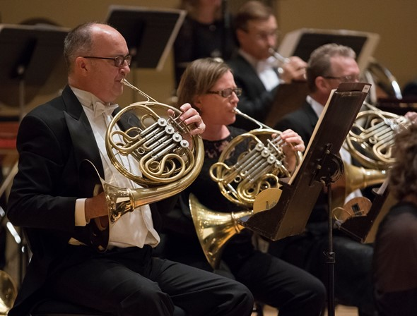 The CSO horns laid the foundation for a great Bruckner Fourth under Riccardo Muti. (Todd Rosenberg)