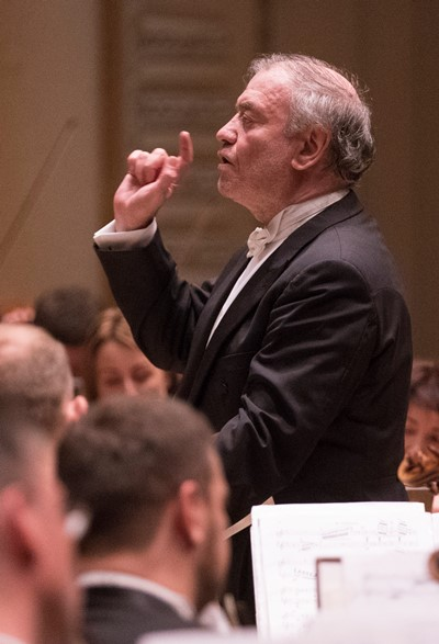 Gergiev drew equally fine playing in German music as well as Russian. (Todd Rosenberg)