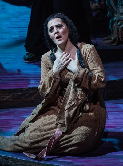 Soprano Maria Agresta was a standout as Liù. (Todd Rosenberg)