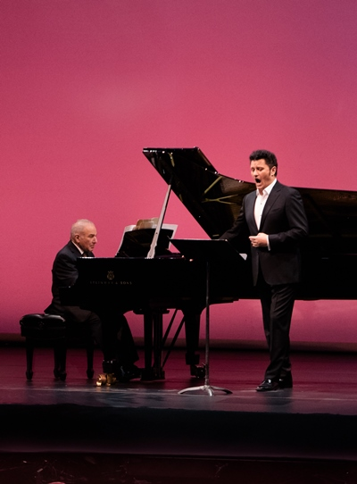 Pianist Martin Katz and tenor Piotr Beczała: collaborative energy that was palpable.