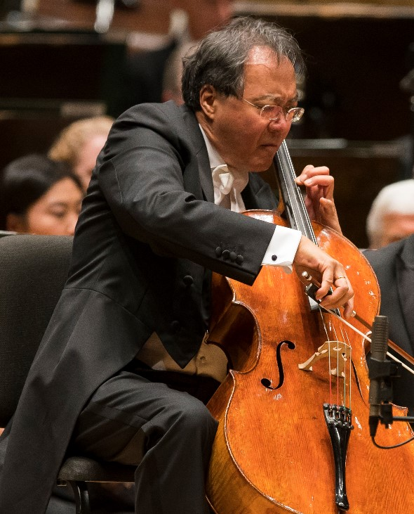 Cellist Yo-Yo Ma to play complete Bach suites in free event