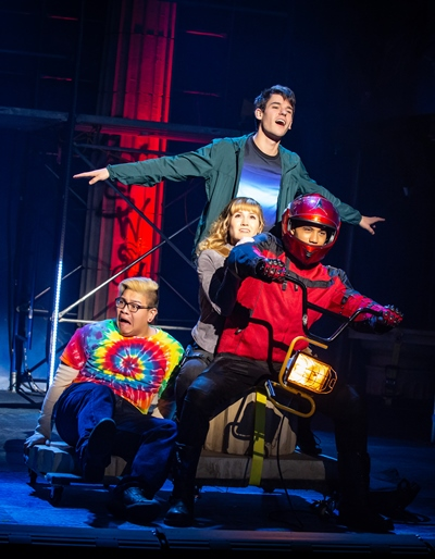 The Lightning Thief': An off-beat musical pits off-the-chart kids