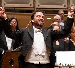 10/3/19 8:33:24 PM -- Chicago, IL USA Chicago Symphony Orchestra James Gaffigan conductor Cynthia Yeh percussion  Dorman Eternal Rhythm [United States Premiere] Shostakovich Symphony No. 8   © Todd Rosenberg Photography 2019